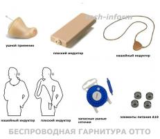 Беспроводная гарнитура OTTO V1-10611 (с шумоподавителем)