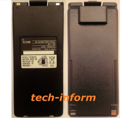 Icom BP-196 для Icom IC-F3/F4/A4