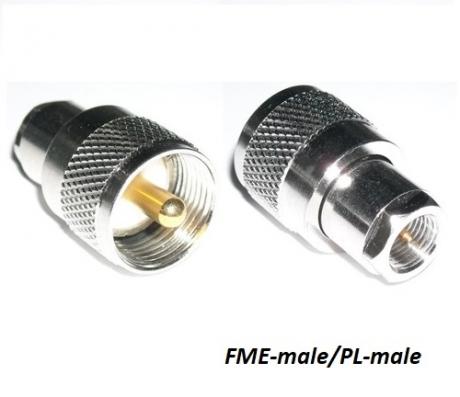 FME-male/PL-male переходник