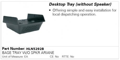 Подставка настольная HLN5292B для Motorola
