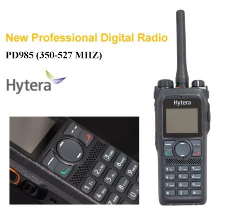 HYTERA PD985. DMR