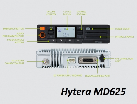 HYTERA MD625 Bluetooth
