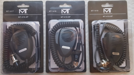 Monotech MT410 микрофон для радиостанции