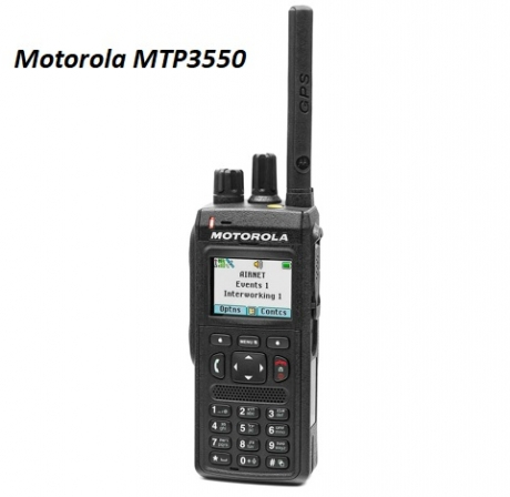 Motorola MTP3550 TETRA