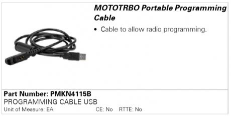 Motorola PMKN4115B, программатор