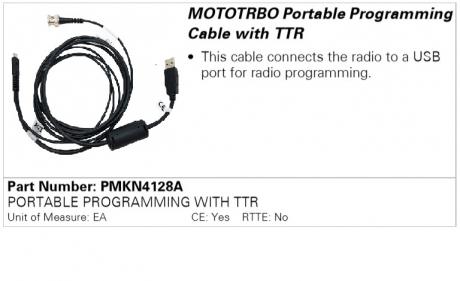 Motorola PMKN4128A, программатор