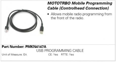 Motorola PMKN4147A, программатор