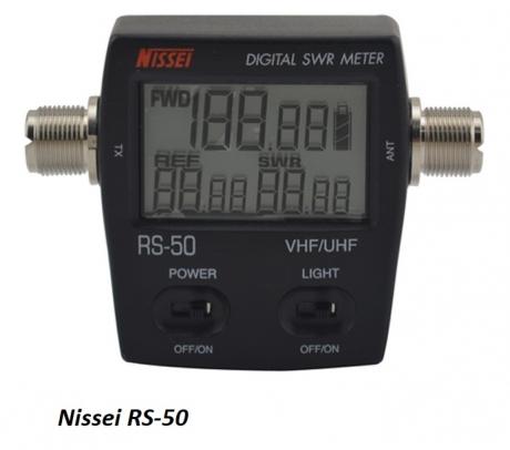 NISSEI RS-50 КСВ-метр