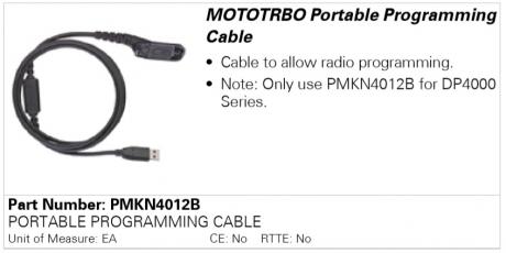 Motorola PMKN4012B, программатор