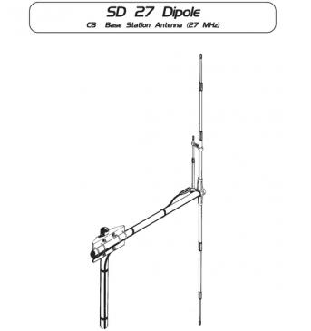 Антенна SIRIO SD DIPOLE (27 MHz)