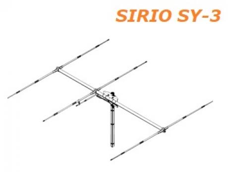 Антенна SIRIO SY-3 (27 MHz, направлена)