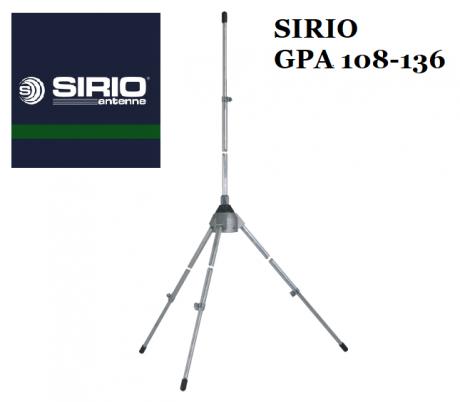 Антенна SIRIO GPA 108-136 (108-136MHz)