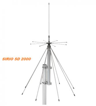 Антенна SIRIO SD-2000N (200-2000MHz)