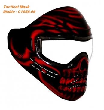 Тактична маска для пейнтбола Diablo - C1058.06