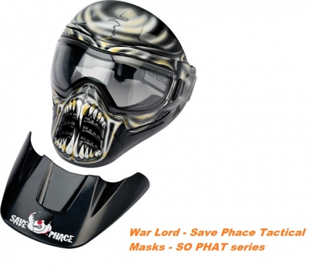 Тактична маска для пейнтбола War Lord - C1058.15