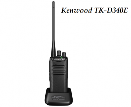 Радиостанция Kenwood TK-D340E DMR
