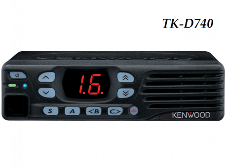 Радиостанция Kenwood TK-D740E DMR