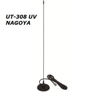 Антенна Nagoya UT-308 U/V, VHF/UHF, 56 см